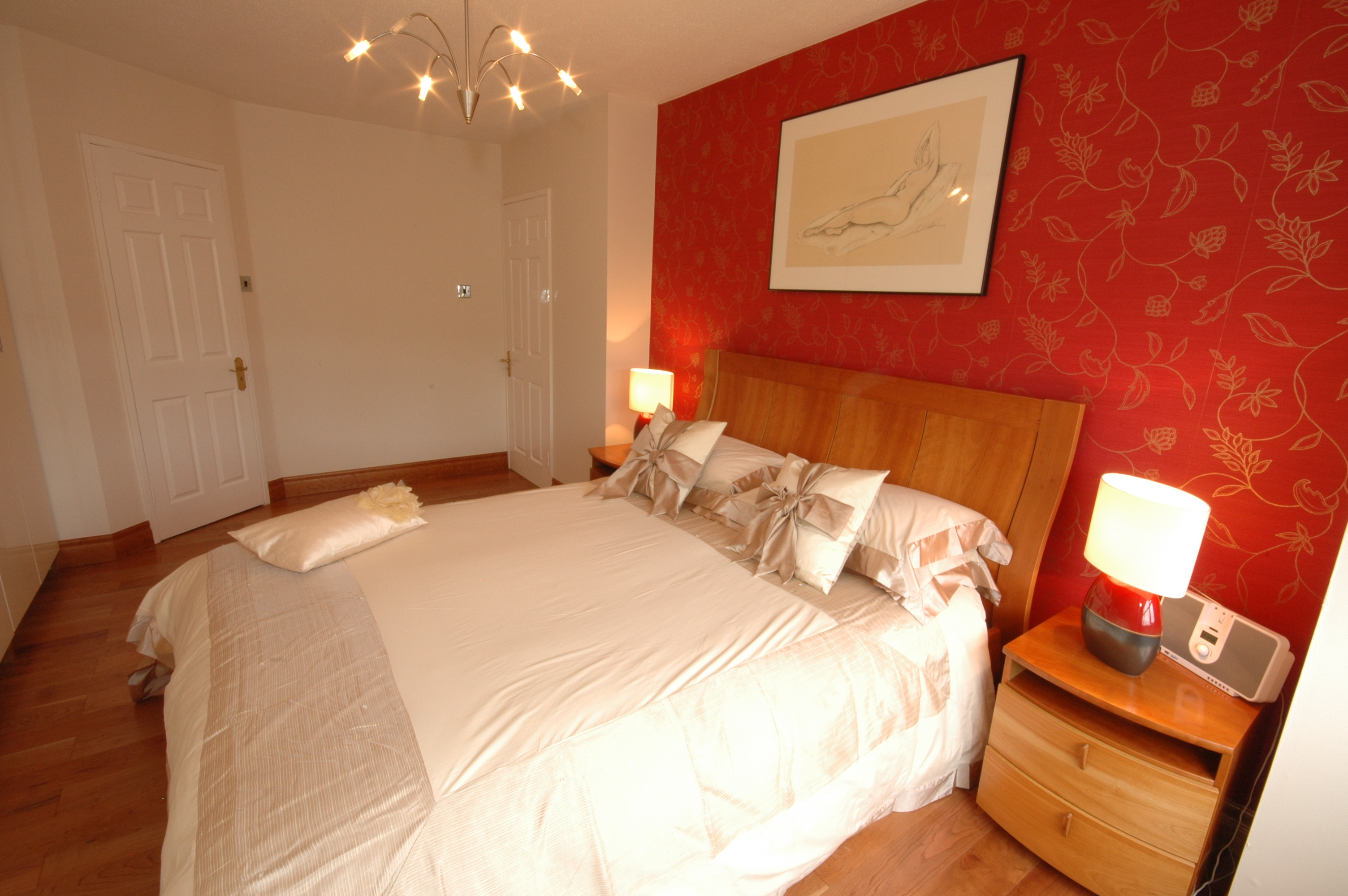fascinating design red wall bedrooms   Not So Boring Neutral – Emerald Interiors Blog