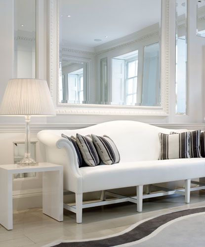 Interior design white palette
