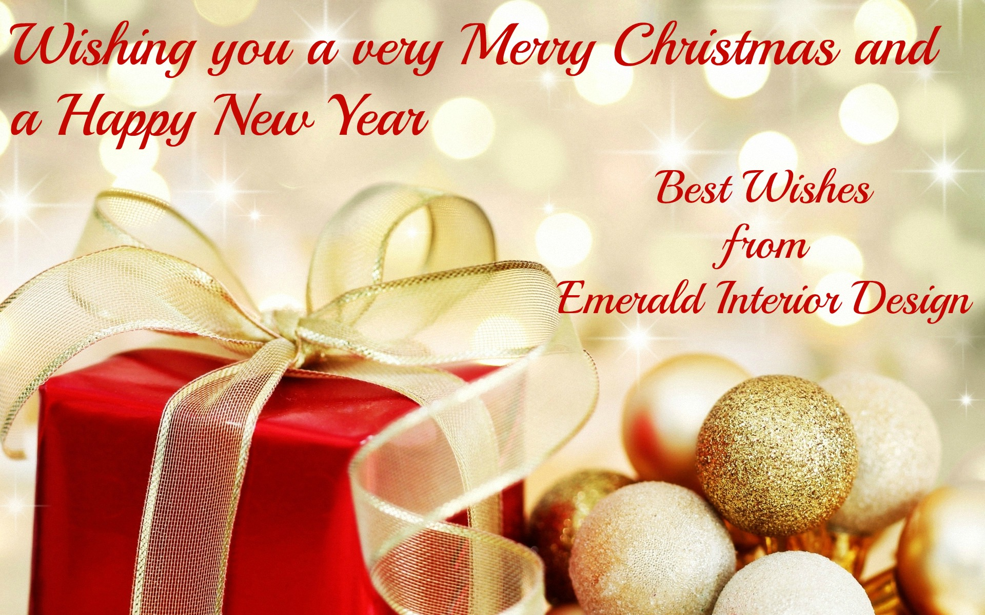 Happy Christmas And Best Wishes For 2013 Emerald Interiors Blog