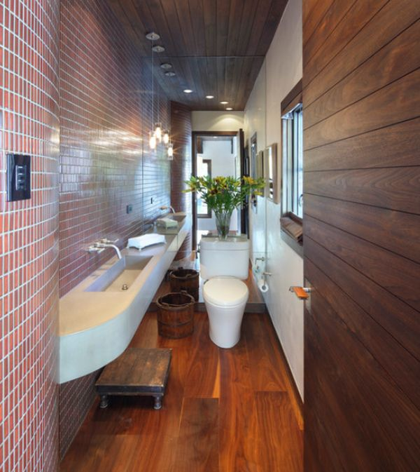Long narrow bathroom emerald interiors blog How long does a bathroom renovation take
