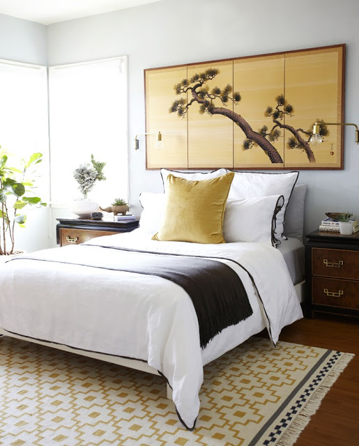 Gallery For White Black And Gold Bedroom
