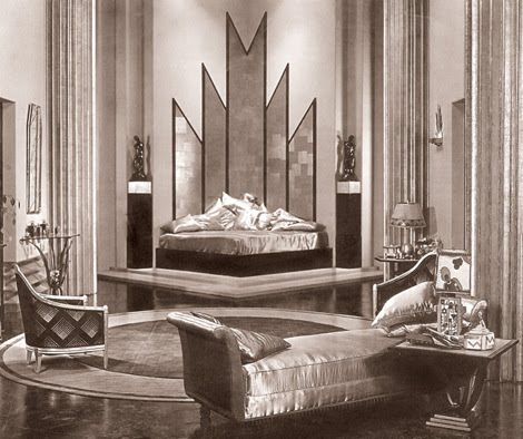 9 art deco style emerald interiors blog for Art deco home interiors
