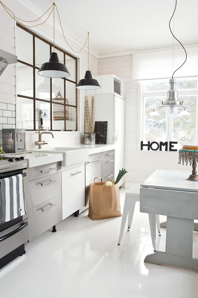 Room Inspiration Industrial Kitchens