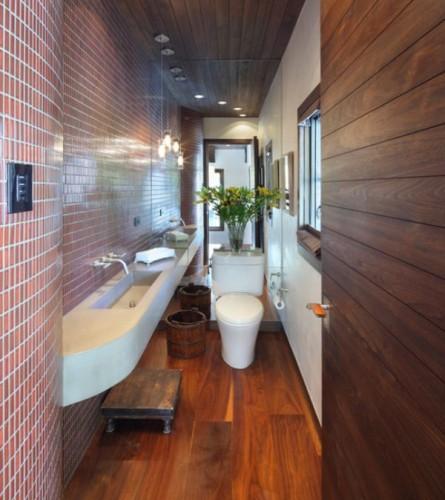 Bathroom Ideas Long Narrow Space : Small but beautiful bathrooms emerald interior design
