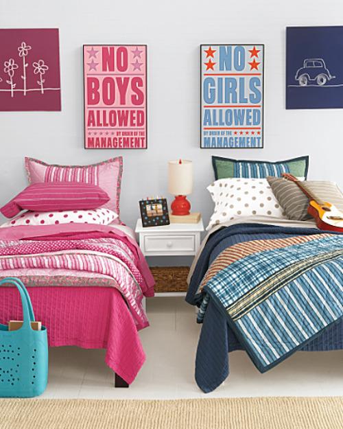 18 Shared Bedroom Idea's For Kids