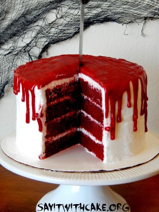 blood cake