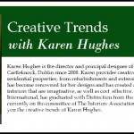 Creative Trends Interview With Yours Truly!