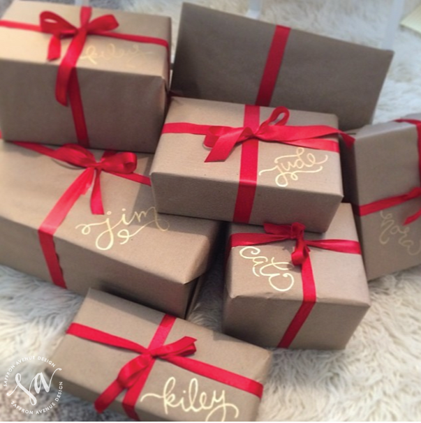 Brown Paper Packages Tied Up With String Emerald