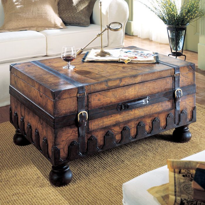 Investment interior design -antique trunk