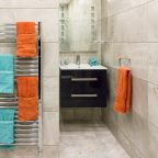 tiled bathroom by Emerald Interior Design