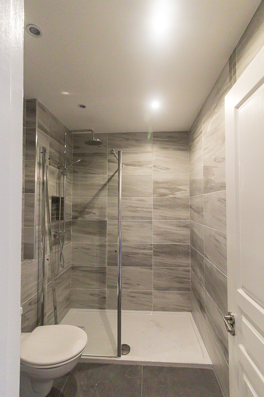 Emerald Interior Design - shower alcove