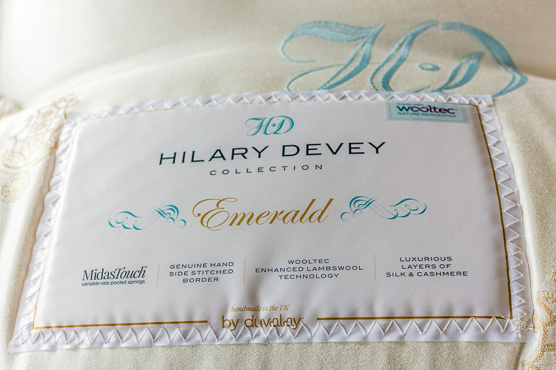 Hilary Devey Emerald Mattress