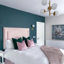 Emerald Interior Design bedroom